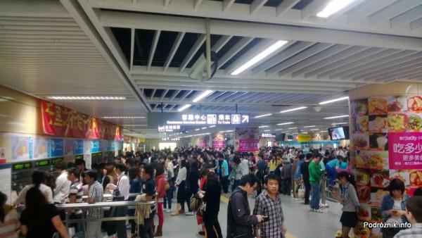 Chiny - Shenzhen - kasy w metrze - kwiecień 2013