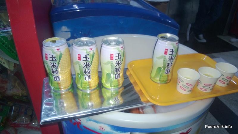 Chiny - Shenzhen - SEG - napój kukurydziany - kwiecień 2013