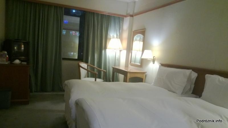 Chiny - Makao - Hotel Best Western Sun Sun Makau - pokój dwuosobowy - kwiecień 2013