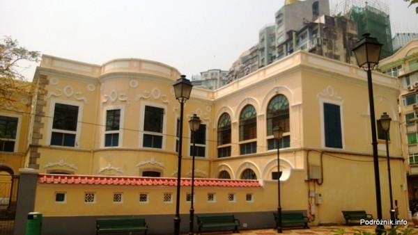 Chiny - Makao - (Colegio Mateus Ricci) - kwiecień 2013