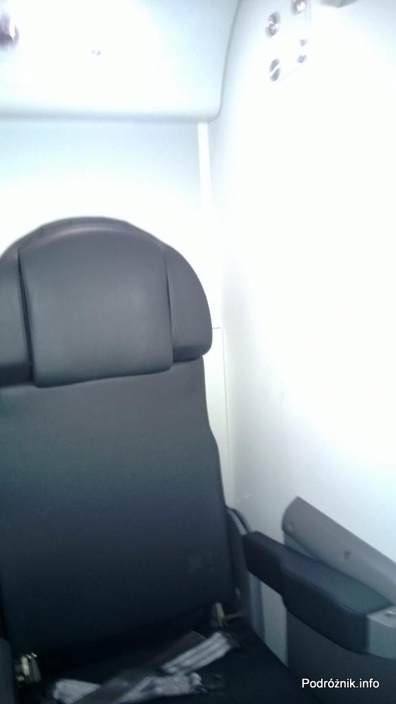 Polskie Linie Lotnicze LOT - Boeing 787 Dreamliner (SP-LRA) - Klasa Biznes (Elite Club) - fotel do odpoczynku dla pilotów - czerwiec 2013