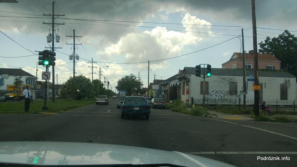 USA - Nowy Orlean - część wschodnia - czerwiec 2013