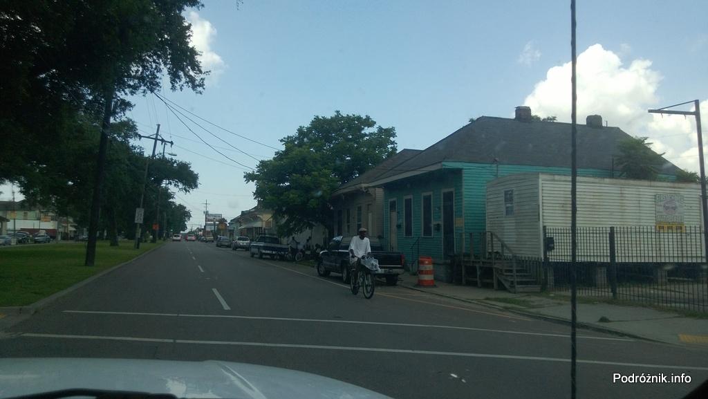 USA - Nowy Orlean - wschodnia część - czerwiec 2013