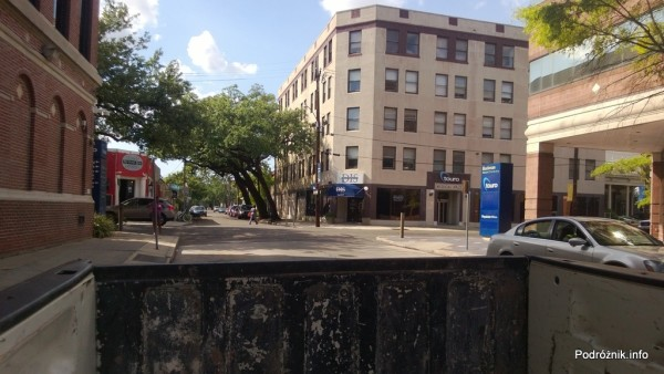 USA - Nowy Orlean - widok z bagażnika F150 - czerwiec 2013