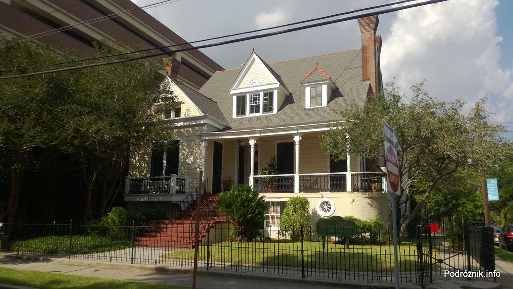 USA - Nowy Orlean - jeden ze starszych domów - czerwiec 2013