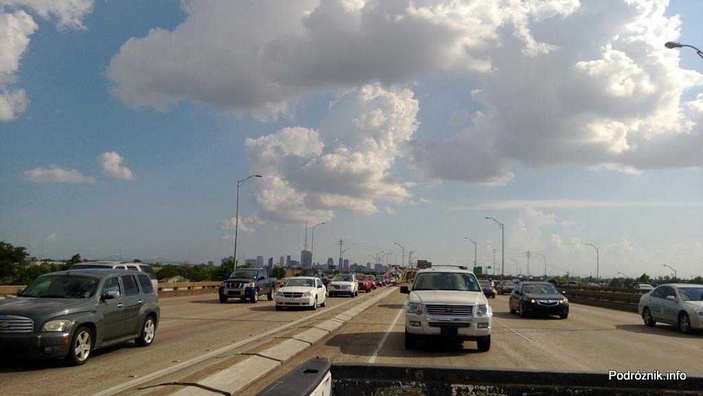 USA - Nowy Orlean - wygląda jakby wszyscy stali w korku - czerwiec 2013