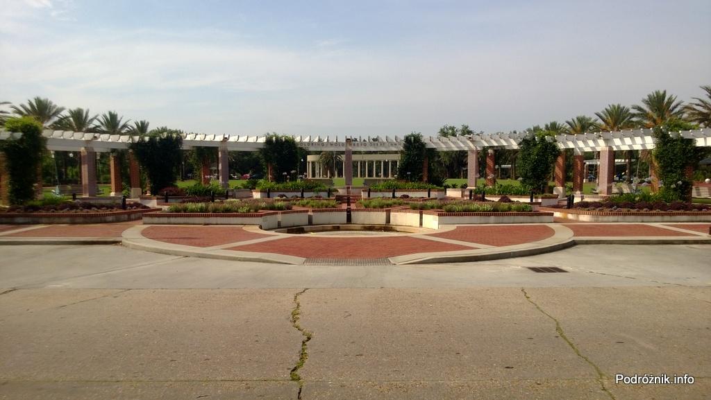 USA - Nowy Orlean - Park miejski - Goldring-Woldenberg Great Lawn - czerwiec 2013