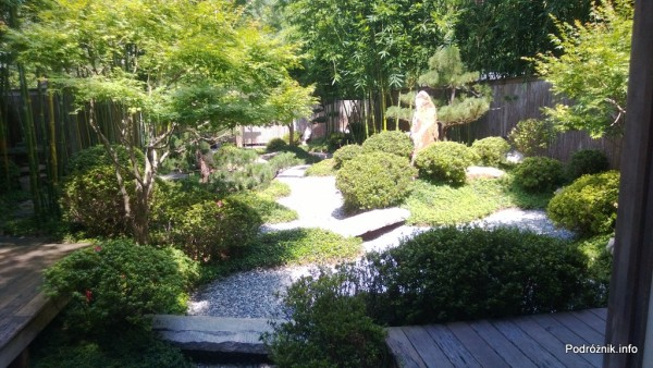 USA - Nowy Orlean - Ogród Botaniczny - japoński ogród - czerwiec 2013