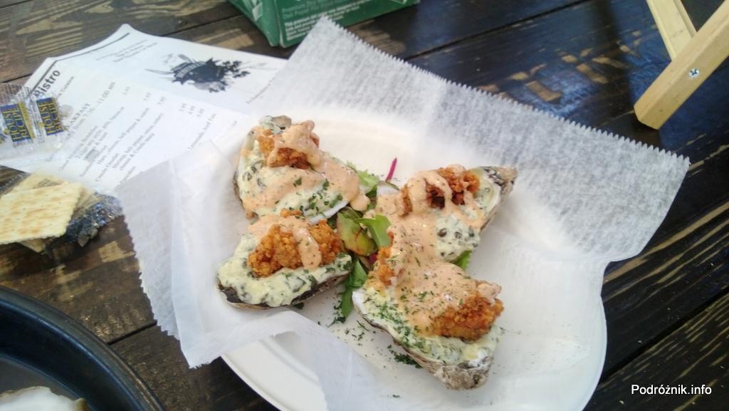 USA - Nowy Orlean - French Market przy French Quarter - ostrygi na ciepło w dwóch sosach - czerwiec 2013