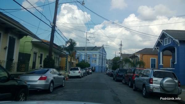 USA - Nowy Orlean - stara zabudowa - czerwiec 2013