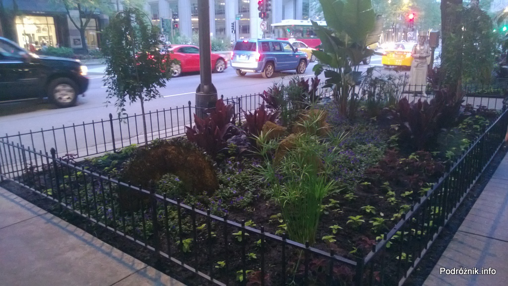 USA - Chicago - rabata wzdłuż jednej z ulic - czerwiec 2013