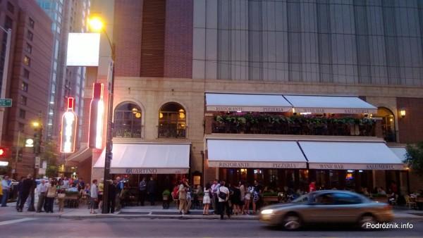 USA - Chicago - Włoska Restauracja Quartino - czerwiec 2013