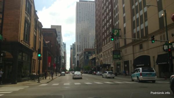 USA - Chicago - skrzyżowanie w północnej części miasta - czerwiec 2013