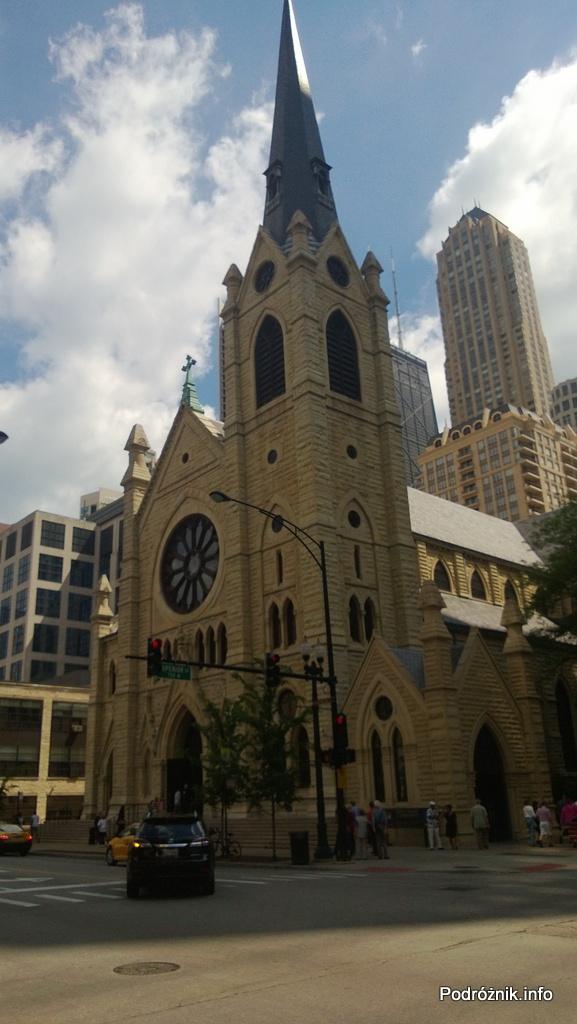 USA - Katedra Najświętszego Imienia Jezus w Chicago - czerwiec 2013