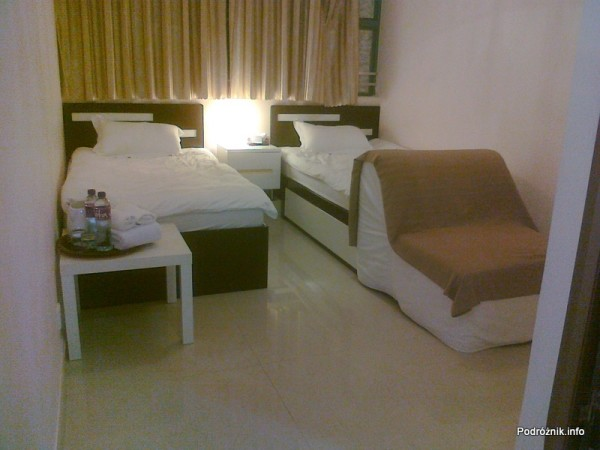 Chiny - Hongkong  - Kings Guest House - Pokój typu Twin Standard - kwiecień 2013