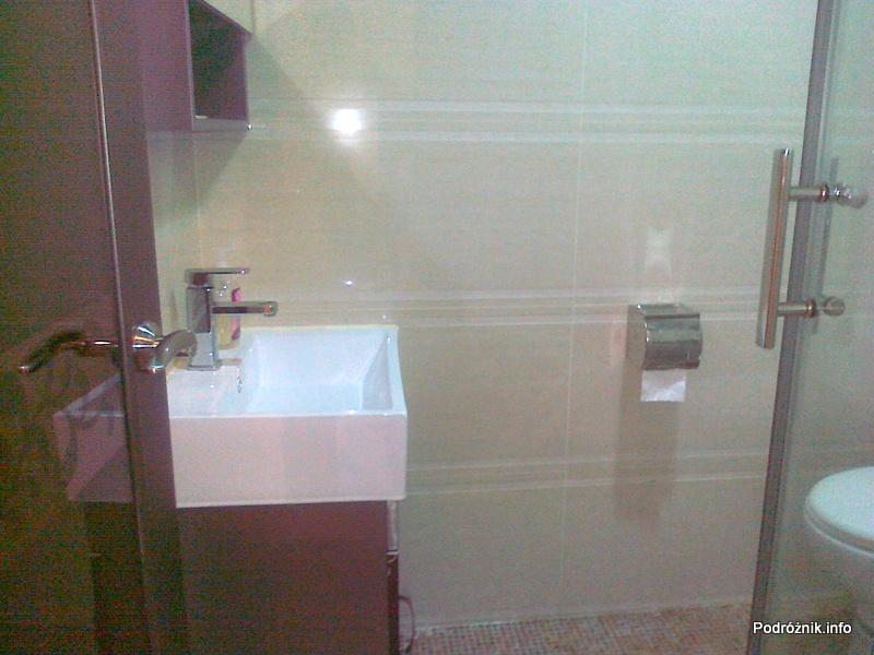 Chiny - Hongkong - Kings Guest House - Pokój typu Twin Standard - łazienka z prysznicem - kwiecień 2013