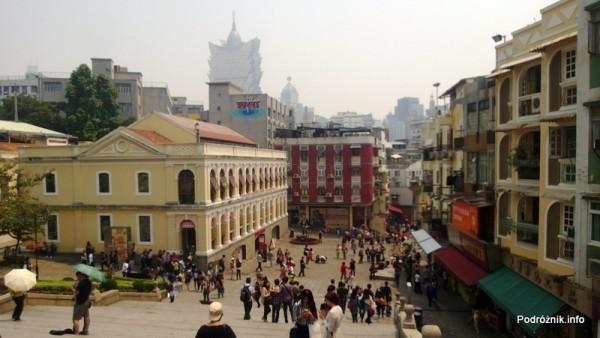Chiny - Makao - widok na miasto sprzed katedry świętego Pawła - kwiecień 2013