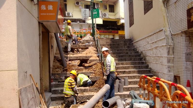 Chiny - Makao - prace hydrauliczne - kwiecień 2013