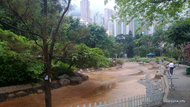 Chiny - Hongkong - Hong Kong Park - kwiecień 2013