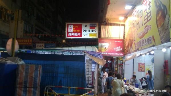 Chiny - Hongkong - restauracja przy bazarze - kwiecień 2013