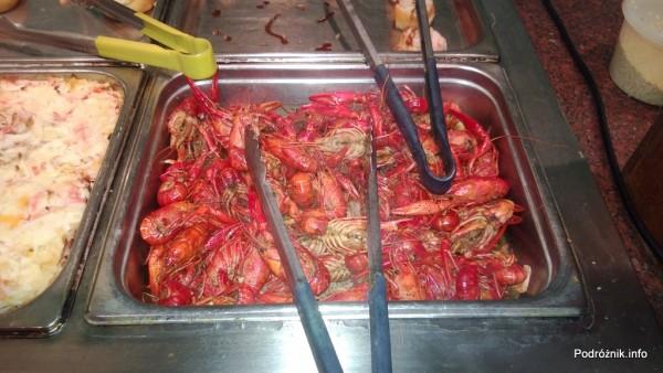 USA - Metairie przedmieścia Nowego Orleanu - Oki Nago Japanese Seafood Buffet - ugotowane raki - czerwiec 2013