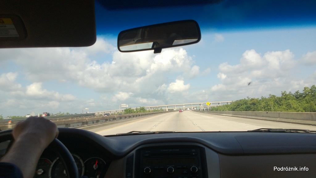 USA - skrzyżowanie autostrad I10 i I310 koło Nowego Orleanu - czerwiec 2013