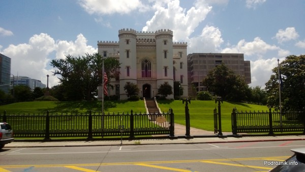 USA - Baton Rouge - Old Louisiana State Capitol - czerwiec 2013