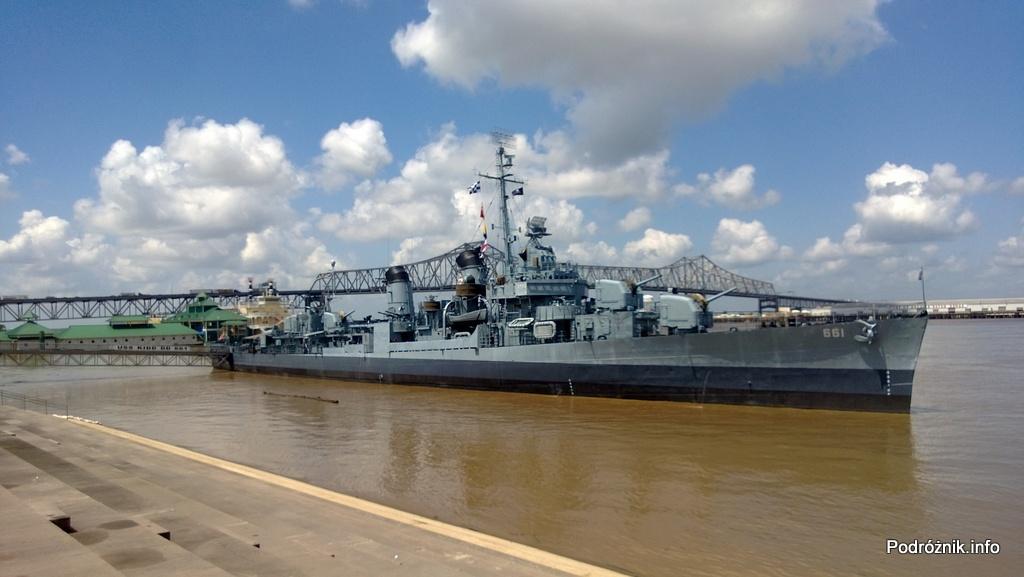 USA - Baton Rouge - Niszczyciel USS Kidd (DD-661) - czerwiec 2013