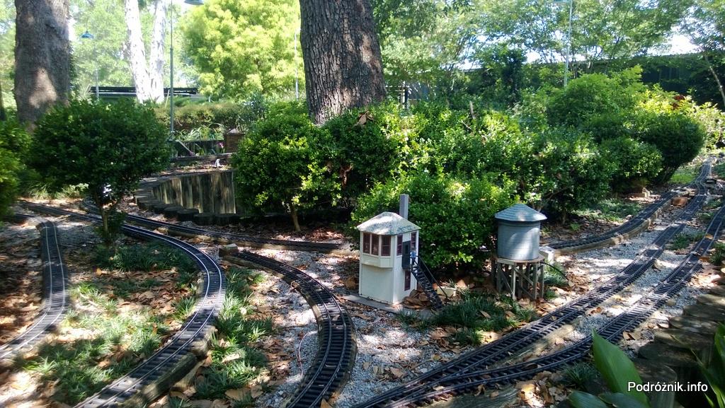 USA - Nowy Orlean - Ogród Botaniczny - Historic Train Garden - czerwiec 2013