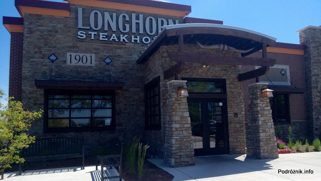 USA - przedmieścia Chicago - Longhorn Steaks - czerwiec 2013