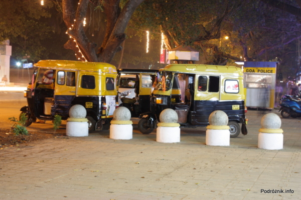 Indie - Goa - Tuk Tuk - listopad 2014