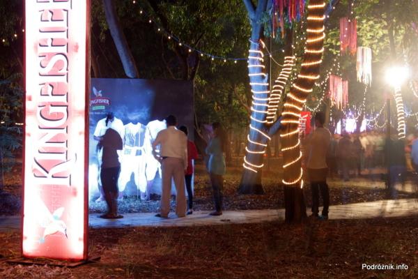 Indie - Goa - Kingfisher IFFI Village - listopad 2014