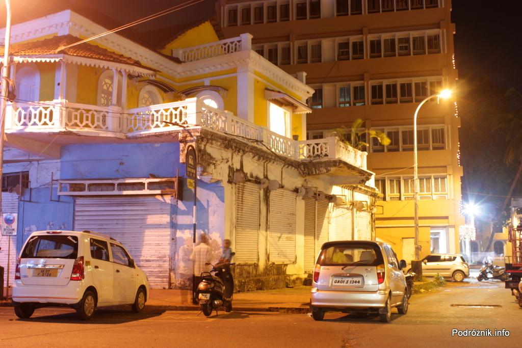 Goa - Panaji nocą - listopad 2014