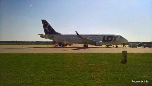 Polska - Babimost - Port Lotniczy Zielona Góra - LOT Embraer 175 - SP-LIA - wrzesień 2017