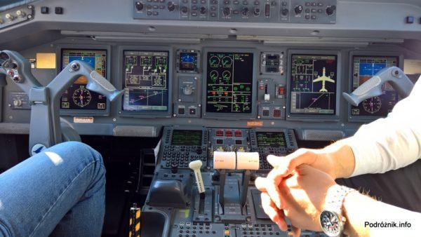 Polskie Linie Lotnicze LOT – Embraer 175 – SP-LIA - kokpit – wrzesień 2017