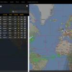 Flightradar24 - 2018.05.06 17:25 UTC - 10 dreamlinerów LOT pierwszy raz w powietrzu jednocześnie