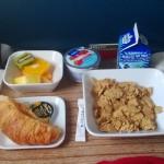 Delta Air Lines - DL5701 - Klasa Pierwsza (First Class) - jedzenie - śniadanie - czerwiec 2013