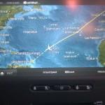 Virgin Atlantic (VS) - Airbus A330 - G-VWAG (Miss England) - trasa przelotu nad Atlantykiem - maj 2014