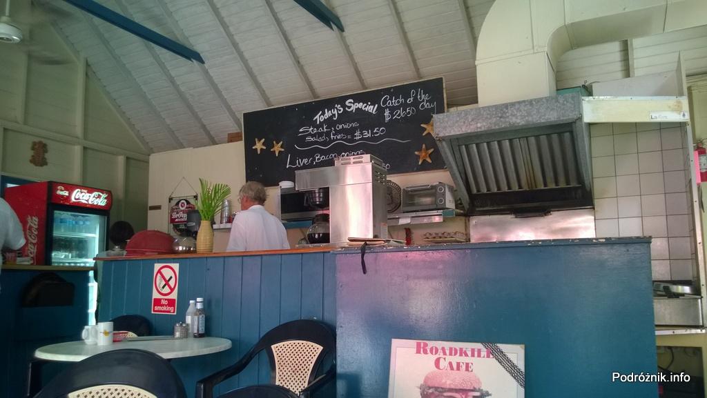 Barbados - wnętrze jednego w wielu barów niedaleko Dover Beach - maj 2014